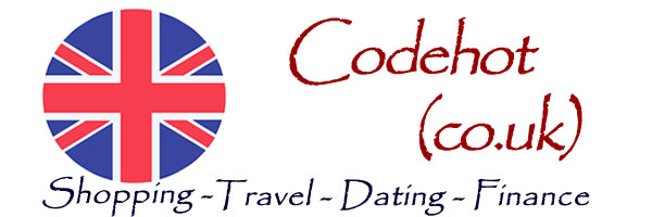 Codehot UK portal for online shopping, travel and holidays, finance and money and online dating.